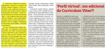 Postura Global no Jornal O Pais (Luanda)