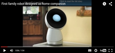 1º Robot familiar Chegou - JIBO
